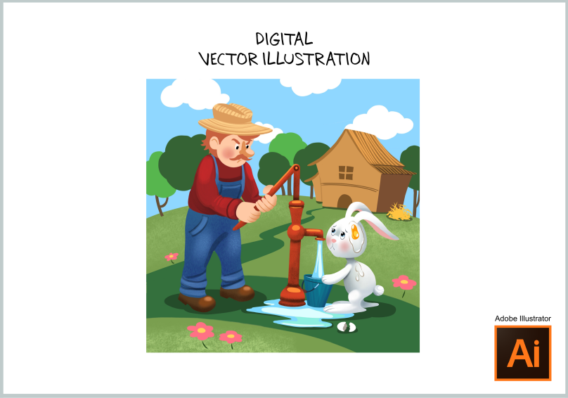 Digital Vector Illustration