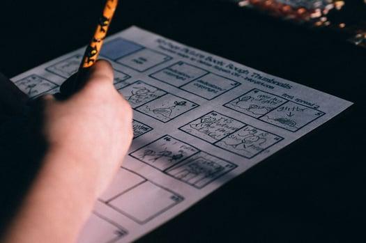 Maci Smithers Storyboard