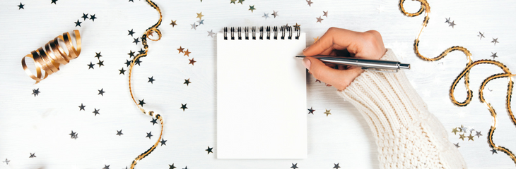 New Year, New Book: 15 Resolutions for Writers and Aspiring Authors