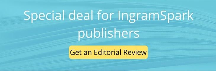Special Deal for IngramSpark Publishers