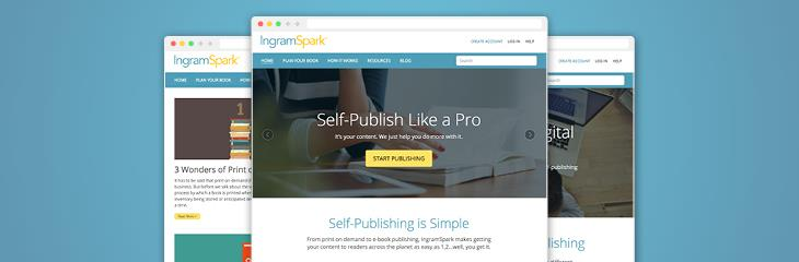 See How Self-Publishing Got Sexy: The New IngramSpark Website